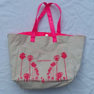 2/$20 JUICY COUTURE tote bag